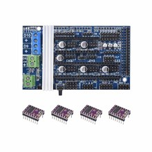 Ramps 1.6 motherboard upgrade base on Ramps 1.4 1.5 New version 3D Printer Control  Board for Reprap Mendel