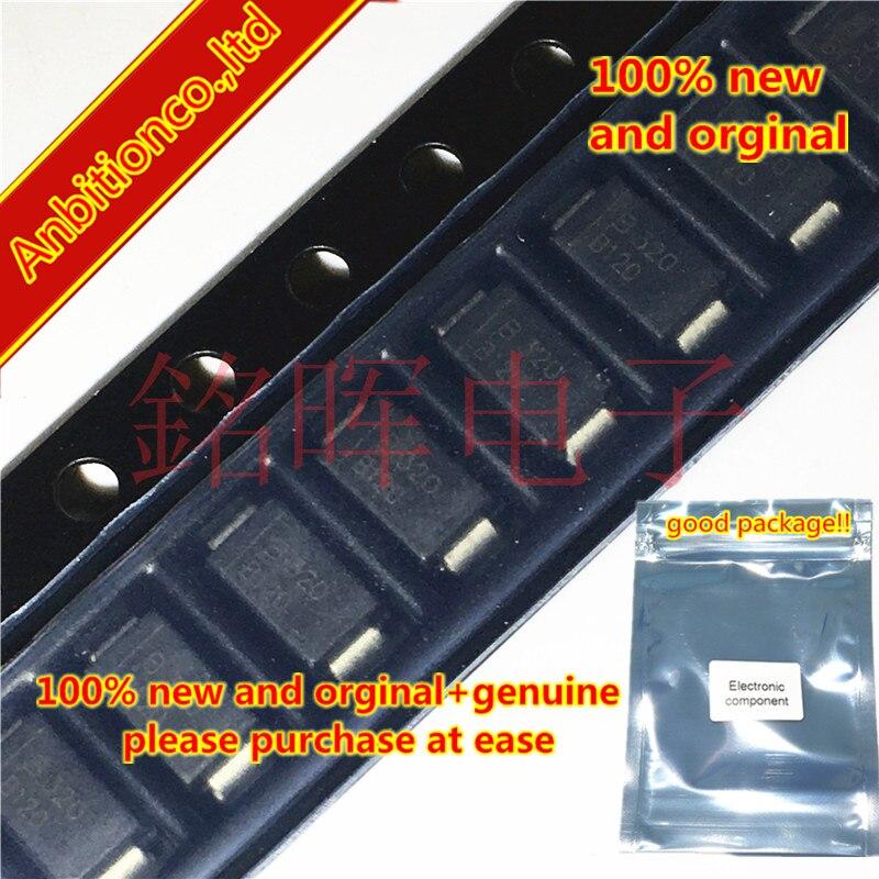 10-20pcs 100% New And Orginal SMA CD214A-B120LF Silk-screen B120 DO214AC In Stock