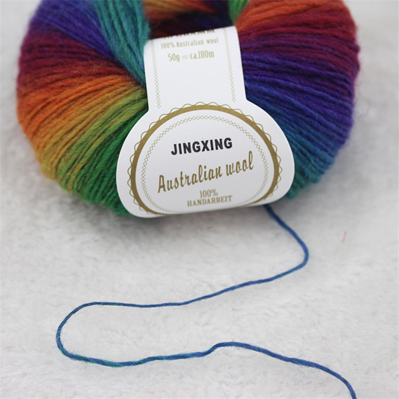500g 10 Ball 100% Australia Wool Knitting Cashmere High Quality - Arts, Crafts and Sewing - Photo 2