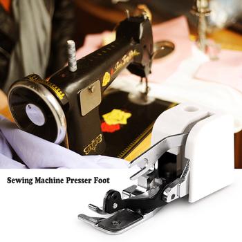 Stopka do maszyn do szycia stopki do Brother Singer części do maszyn do szycia domowego szczypce Overlock stopka tanie i dobre opinie Gospodarstw domowych maszyn do szycia Płaskie łóżko Nowy Sewing machine Presser Foot Chodzenie pieszo