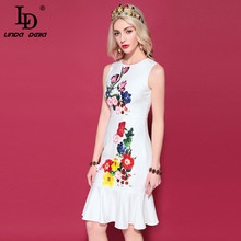 5aa62bfe227bf Buy runway floral dress beautiful and get free shipping on ...