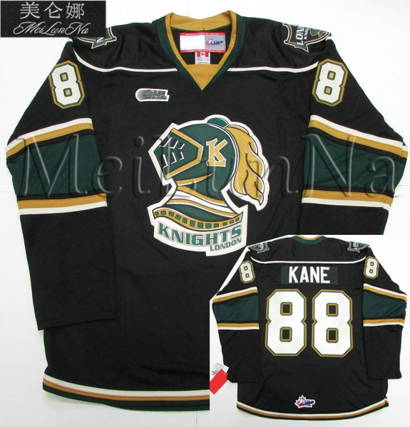 цена на MeiLunNa Custom OHL London Knights Jerseys 88 Patrick Kane 55 Daniel Girardi 61 John Tavares 61 Rick Nash Sewn On Any Name NO.