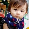 2016 ¡ PROMOCIÓN! otoño Invierno de Algodón de Cuello Bufanda Cabritos Niños Niñas Bufanda Del Bebé Del Algodón de Cuello O Cuello Anillo Bufandas