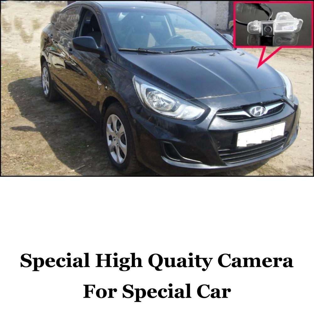 Car Camera For Hyundai Grand Avega  Solaris  Fluidic Verna Sedan High Quality Rear View Back Up Camera For Fans  RCA Car