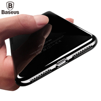 Baseus Ultra Thin Case For iPhone 7 7 Plus Case Cover 4.7/5.5 inch Transparent Soft TPU Protective Shell Coque For iPhone7 7Plus