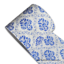 Free Shipping 3 Pcs Blue and White Printing Toilet Paper Tissues Roll Novelty Tissue Wholesale