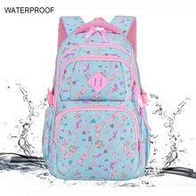 Waterproof Children School Bags For Girls Princess School Backpacks Kids Printing School Backpack Schoolbag Mochila Infantil