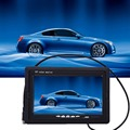 2-way AV1 AV2 entrada de vídeo de 7 polegadas 7 W LCD Universal Digital High-definition HD DVD VCD Carro Espelho Retrovisor Monitor Do Carro 12 V