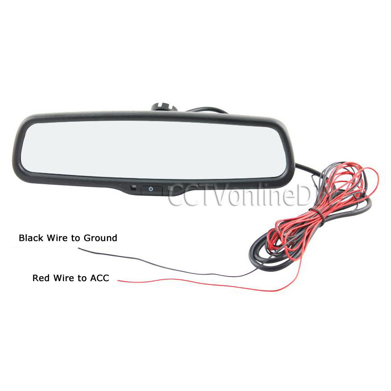 ANSHILONG автомобильное заднего вида внутреннее Автоматическое затемнение зеркала со специальным кронштейном - 6