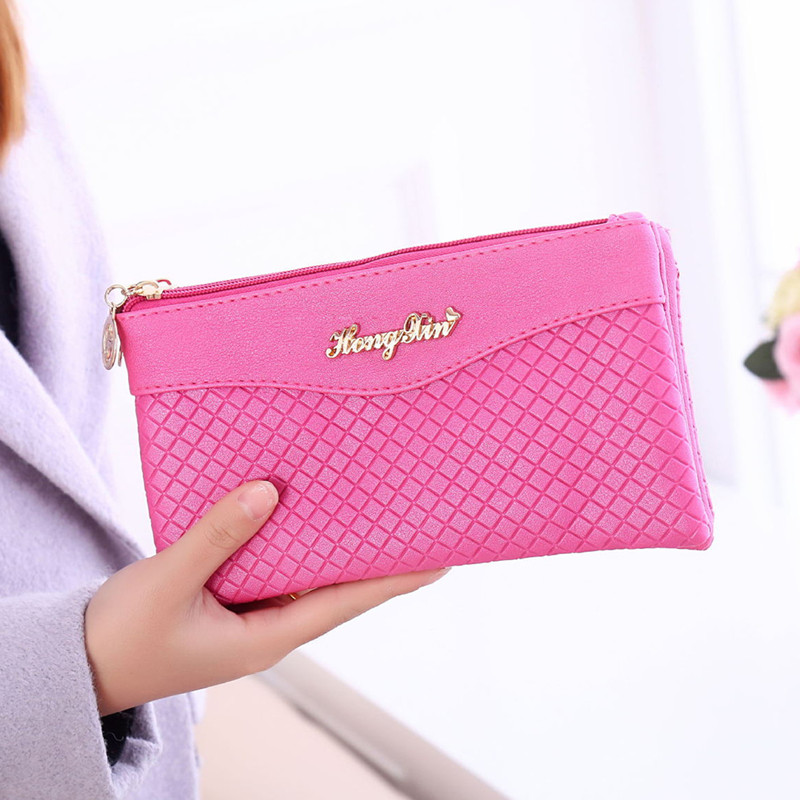 7e3862fd59fb 2018 New Fashion Women Clutch Bag Small Shoulder Bag Plaid Pattern Designer  Woman Messenger Bags Ladies Handbag Day Clutches-in Clutches from Luggage    Bags ...
