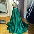 Saias das mulheres formal estilo verde personalizado zíper cintura a line até o chão saia maxi longa noite do baile de finalistas saia cheia