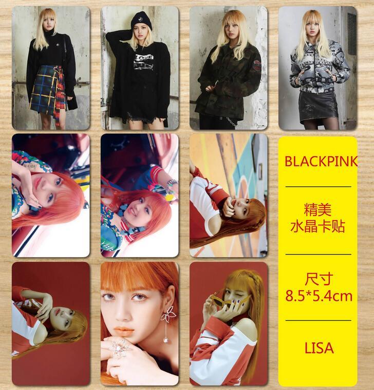 New Kpop Blackpink Lisa Rose Jennie Jisoo The Same Exquisite Crystal