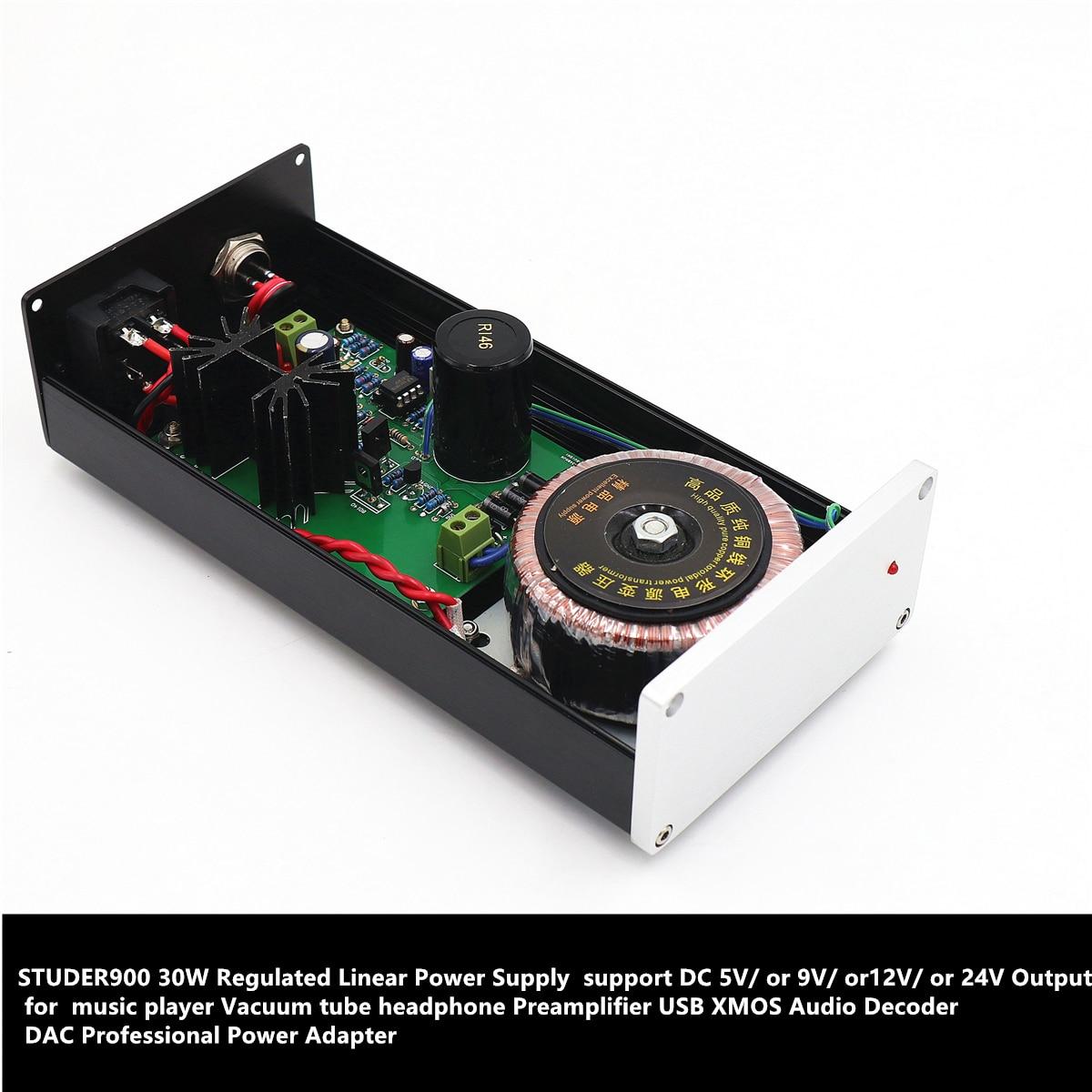 STUDER900 régulateur alimentation linéaire DC12V 2.5A 30 W DAC décodeur Audio adaptateur secteur professionnel