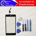 Doogee x5 tela de toque digitador toque substituição do painel de vidro digitador garantia 100% original para doogee x5 telefone celular