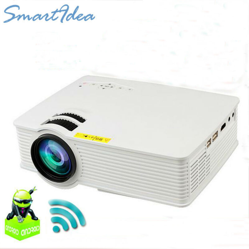 2017 smartidea mini smart projector with without android 4 for Mini smart projector