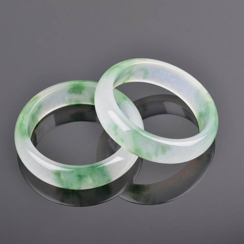 Beautiful Nephrite Jade Bracelet Pure Hand Carved Bangle 62mm.1PC