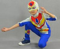 2015 New Children S Sports Suit Boys Spiderman Long Sleeved Suit Zipper Styling Size 100 140