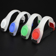 NEW LED Reflective Safety Belt Arm Strap Waist Belt Glowing Bracele Outdoor Night Cycling Running LED Light for Jogging Brace new arrivals warning waist belt tape lamp led light outdoor night cycling running working workplace safety supplies accessories
