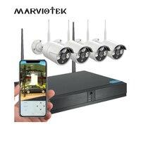 Wireless home Security Camera System Outdoor Waterproof 720P IP Camera Wifi NVR Kit Video Surveillance DVR CCTV Camera System IR