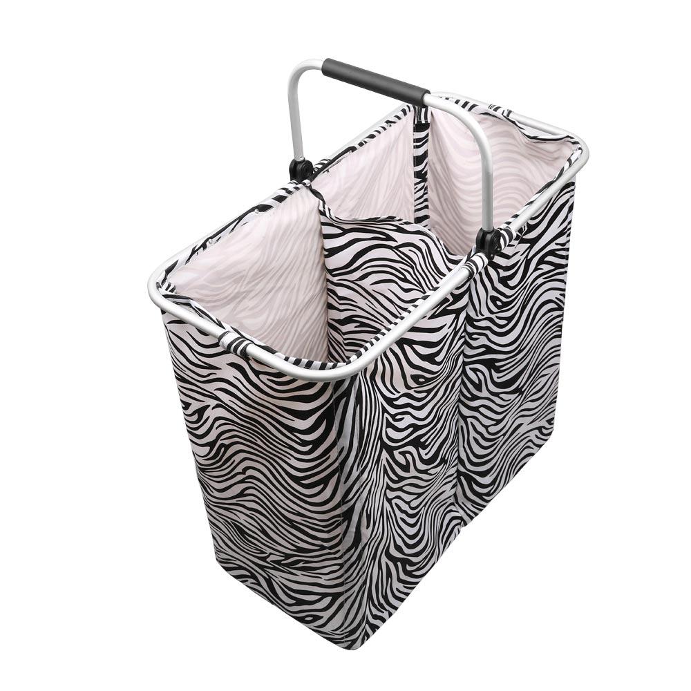 Shushi Two Grid Skládací prádlo Košík kreativní design vodotěsný koupelna prádelna organizátor domácí skládací hračka úložný koš