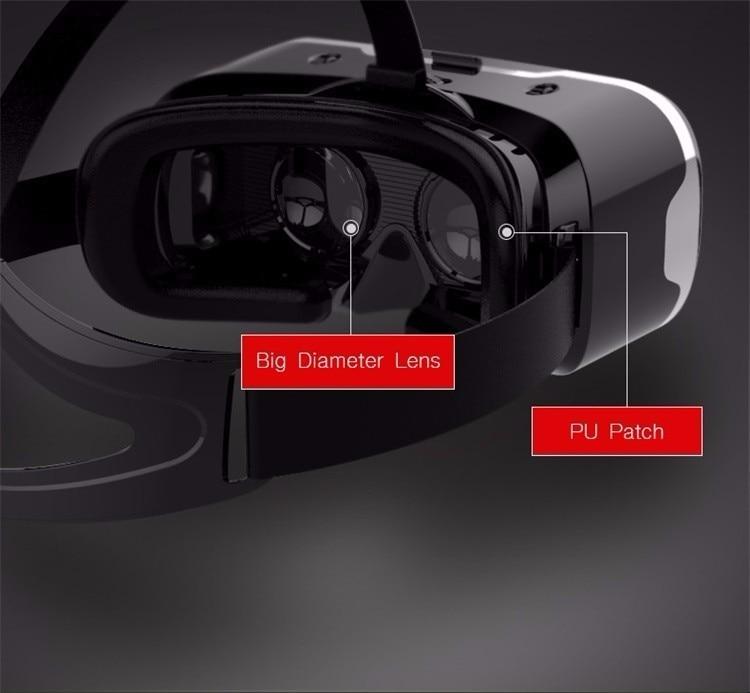 VR Shinecon 2.0 Google Cardboard VR BOX 2.0 Virtual Reality goggles VR 3D Glasses Immersive for 4.5-6.0 inch smartphones 21