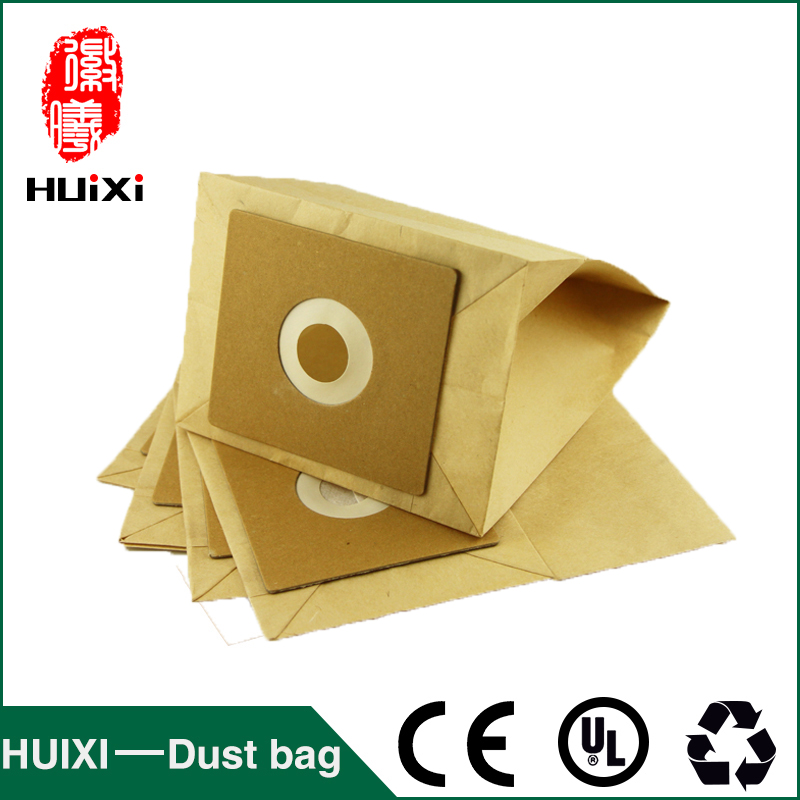 50mm Vacuum Cleaner Paper Dust Bags And Change Bags Of  Vacuum Cleaner parts With High Quality For ZW1200-202  ZW1200-203 etc dust bags and dust bucket of vacuum cleaner parts with high efficiency for vt02w 09b t3 l201b etc