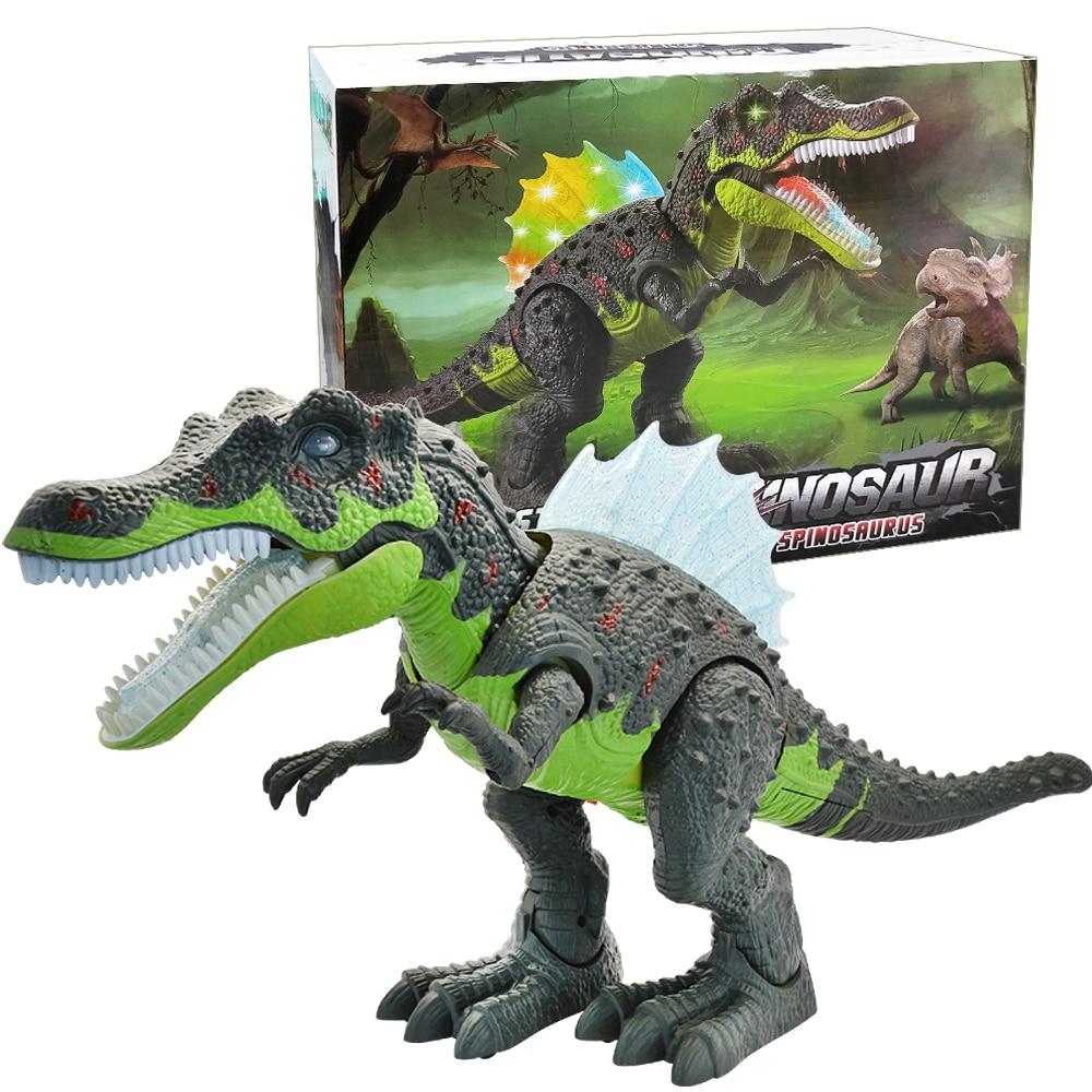 andando dinossauro robo com som leve brachiosaurus 05