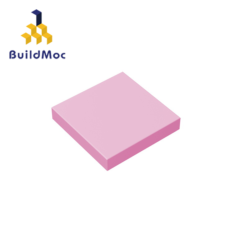 BuildMOC Compatible Assembles Particles 3068 2x2 For Building Blocks Parts DIY LOGO Educational Tech Parts Toys