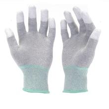 Hanvo 13 калибровочный карбоновый вкладыш с наконечником PUFinger с покрытием защитные рабочие перчатки механические рабочие перчатки