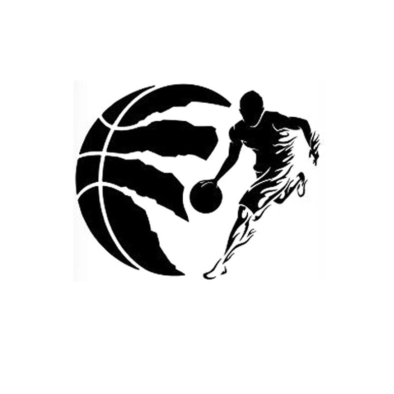 14,2 см * 11,3 см модные фамилией баскетболиста и цифрой автомобильные виниловые наклейки S9-0164