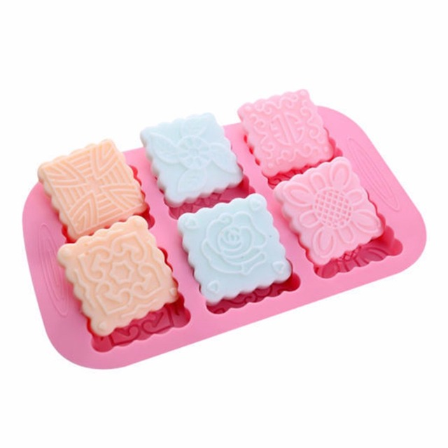 Square Resin Silicone Soap Making Mold
