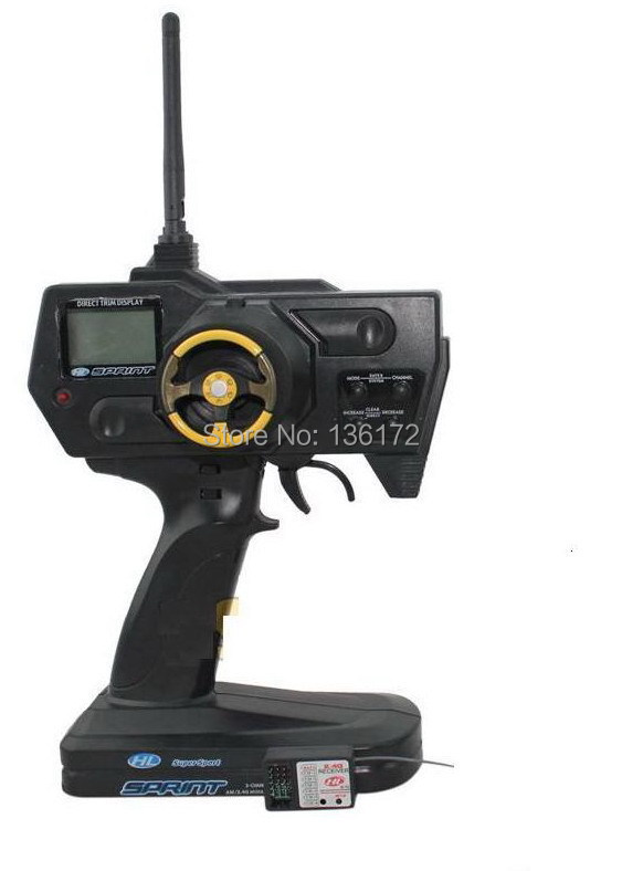 henglong  RC car 2.4G transmitter+receiver /2.4G radio controller+receiver/2.4G remove controller +receiver free shipping receiver