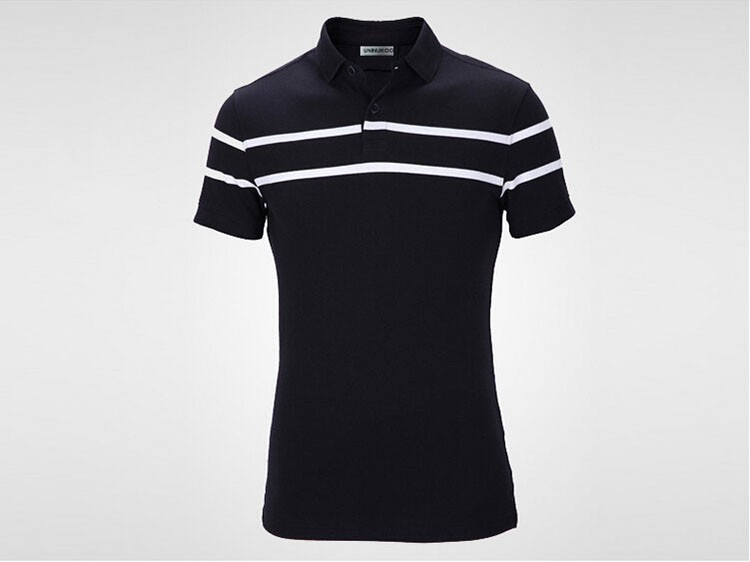 Polo Men Fashion Casual Classic Striped Golf Polo Shirt Slim Fit Summer Cotton Short Sleeve Tee Camisa Polos Homme Plus Size 3XL (3)