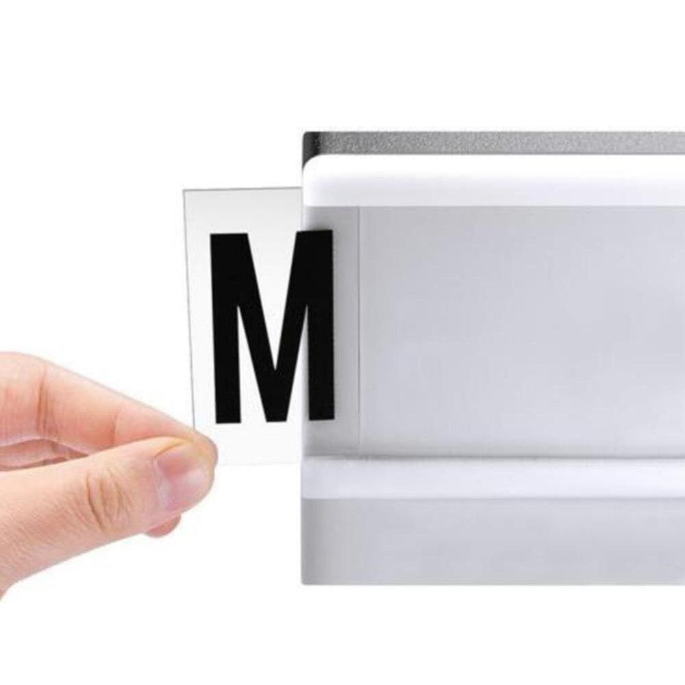 Luzes da Noite novo a4 a5 a6 combinação a4 Light Box : Includes 96 Black Letter Cards