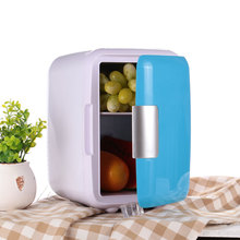 Vehemo Mini 4L Car Vehicle Refrigerator Warming Cooling Fridge Home Dormitory