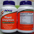 Now Foods Plant Enzymes 120 Veg capsules Free shipping