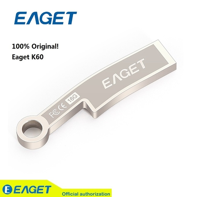 EAGET K60 USB 3.0 64GB USB Flash Drive Fashion Knife Ancient Coins Metal Waterproof Gift Memory Stick Pen Drive On Promotion