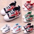 Новый младенец малыша детская обувь прекрасный мягкий кроссовки мальчики девочки младенческой малыша мягкое дно обувь 3 размера для 0 - 1 лет