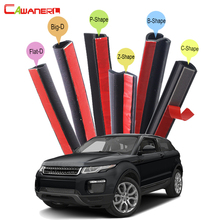 Cawanerl Car Accessories Sealing Seal Strip Kit Seal Edge Trim Rubber Weatherstrip For Land Rover Range Rover Evoque