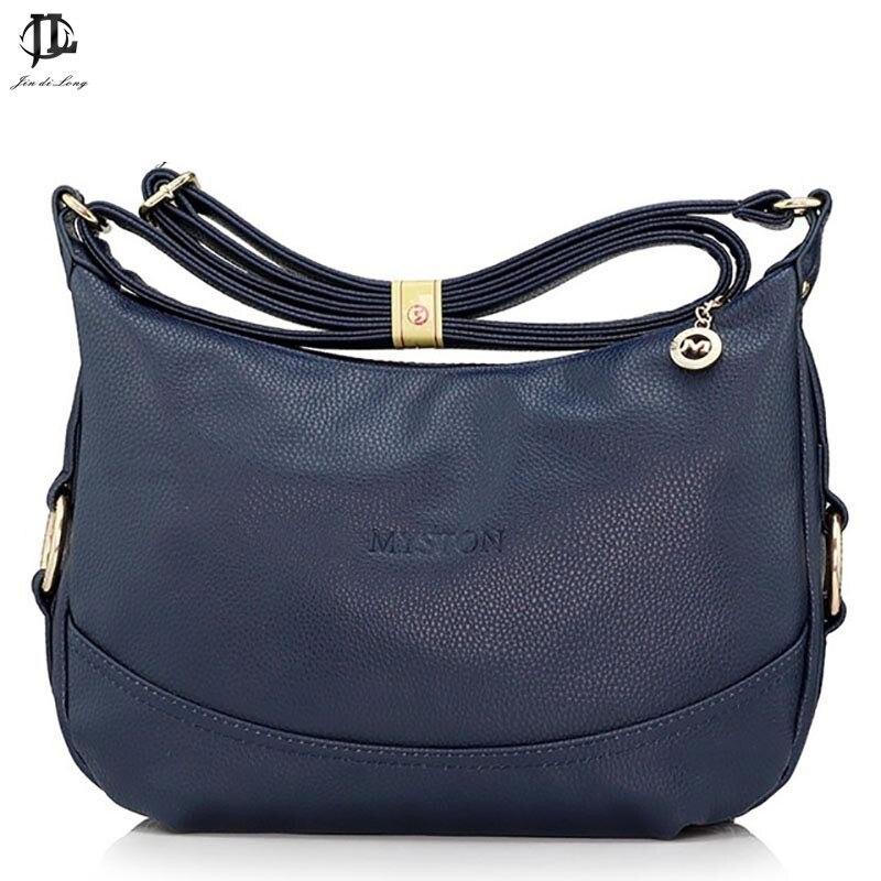 Brand Myston Stylish PU Leather Women's Messenger Bag Crossbody One Shoulder Bags Travel Zipper Design Bags For Ipad burgundy one shoulder frill layered design jumpsuit