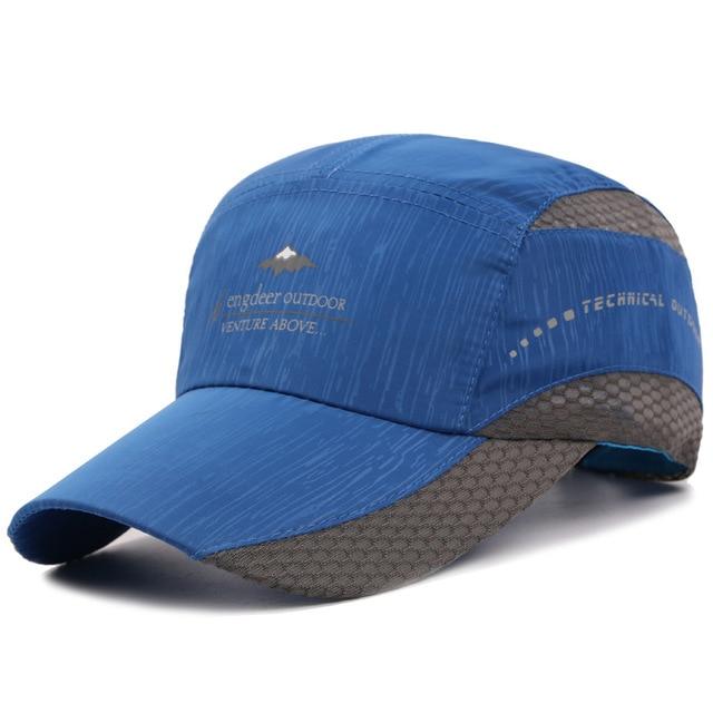 Kioninai 2018 Summer Ourdoor Sports Cap Men Quick-drying Thin Light Breathable Snapback Hat Male Hiking Fishing Basebabll Cap 3