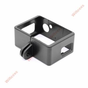 Image 3 - Selteexs capa protetora para câmera, acessórios de proteção, borda, suporte de carcaça, para sjcam sj4000, esportes action cam