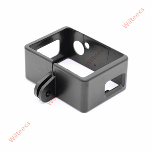 Image 3 - WILTEEXS camera Accessories Border Frame Mount Protective Housing Case Cover For SJCAM SJ4000 Sport Action cam