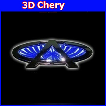 Chery giggo LED Car Logo Light a3 a5 QQ 3D Car Badge LED Lamp Auto Emblem Led Light Rear Lights