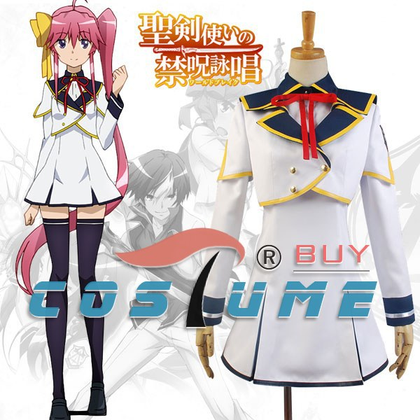 World Break: Aria of Curse for a Holy Swordsman Satsuki Ranjo Cosplay Costumes For Women Girls Dress