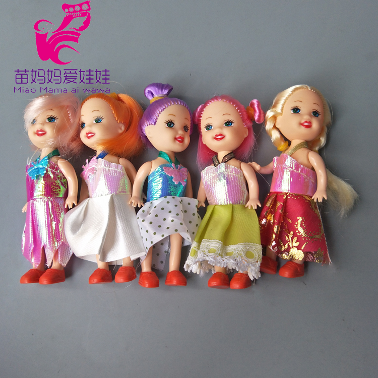 1 pieces Mini Dolls play house accessory for barbie doll girl present gift