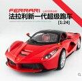 Bburago 1:24 modelos de automóviles de aleación auto deportivo Italiano ENZO 458 F430 Original Fast and Furious Rojo Regalos para niños