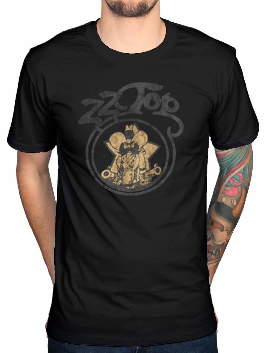 Design t shirt and get paid - Print T Shirt Zz Top Outlaw Village T Shirt Texicali La Futura I Gotsta Get Paid