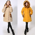 For -30 Degree Winter Warm Coat Waterproof Windproof Baby Girls Jackets Kids Clothes Children Outerwear For 9-16T