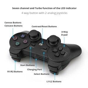 Image 5 - Геймпад беспроводной Bluetooth джойстик для PS3 контроллер Беспроводная консоль для Playstation 3 игровой коврик джойстик аксессуары для игр